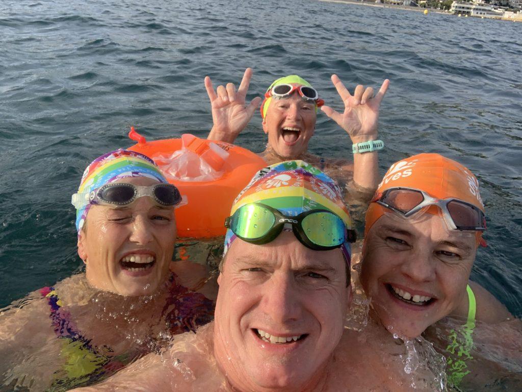 Swim in Spain