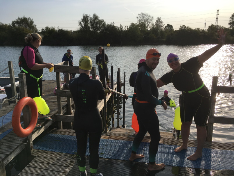Open Water Swimming at Reading Lake Hotel